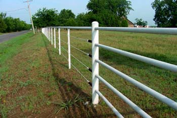 Coated Cable Fencing